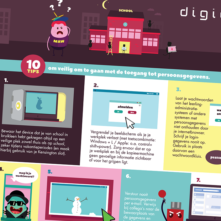 Infographic privacy
